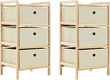 Youthup - Storage Racks with 3 Fabric Baskets 2