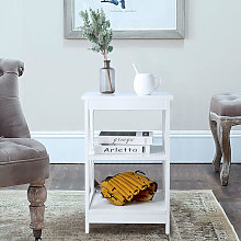 Youthup - Table Side Table Sofa Side Table Storage