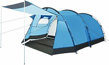 Youthup - Tunnel Camping Tent 4 Person Blue