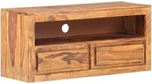 Youthup - TV Cabinet 90x30x40 cm Solid Sheesham