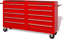 Youthup - Workshop Tool Trolley with 10 Drawers