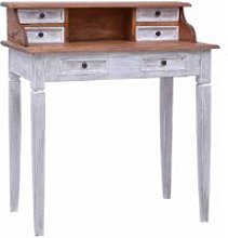 Youthup - Writing Desk with Drawers 90x50x101 cm