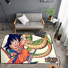 YOUXIUHAO Anime Dragon Ball Doormat Rug Floor