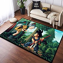 YOUXIUHAO Dragon Ball Non Slip Carpet Computer