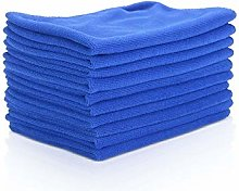 Youyijia 10 Pcs Car Wipes Microfibre Cleaning Car