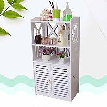 Youyijia Bathroom Floor Cabinet Storage Organizer
