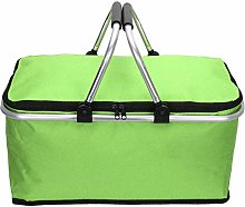Youyijia Picnic Basket 30L Foldable Insulated