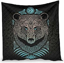 YOUYO Spark Viking Bear Air Conditioner Quilt