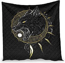 YOUYO Spark Viking Wolf Sun Air Conditioner Quilt