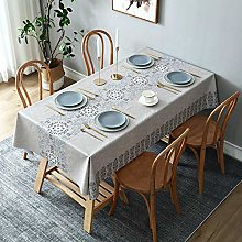 YOUYUANF tablecloth Linen look tablecloths