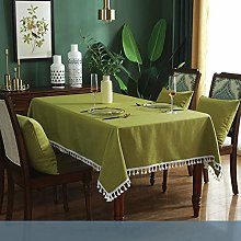 YOUYUANF Tablecloth Table Mat Chenille Waterproof