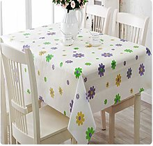 YOUYUANF tablecloth wipe cleanHousehold Daily