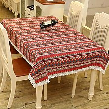 YOUYUANF tablecloth wipe cleanMediterranean