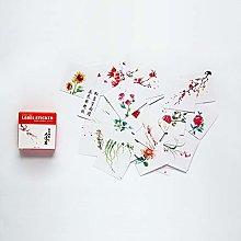 YOUZHIXUAN Fridge Magnet Flowers Pattern Cartoon