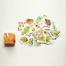YOUZHIXUAN Fridge Magnet Leaf Pattern Cartoon