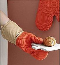 YOUZI Orange Oven gloves Heat resistant