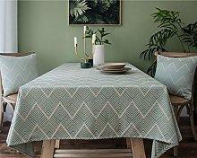 YOUZI Rectangle tablecloth, Dining table garden