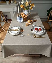 YOUZI Rectangle tablecloth, wipeable tablecloth