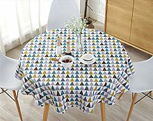 YOUZI Round tablecloth, Dining table garden