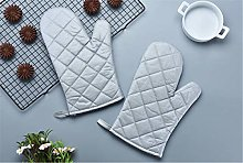 YOUZI Silver Oven gloves Heat resistant