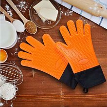 YOUZI Wristband orange Oven gloves Heat resistant