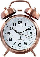 YOYO Twin Bell Alarm Clock Battery Operated, Loud
