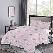 Yoyon Three-Piece Bed Duvet Cover Retro Style