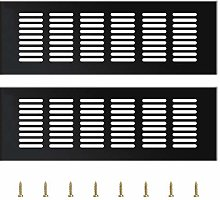 YQ 2 Pieces Air Vent Grille Cover, Cupboard Vents