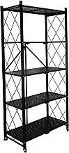 YQCX 5 Tier Shelf Shelves Storage Shelves,