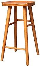 YQCX Bar Stool Niture Wooden Ergonomic Barstool