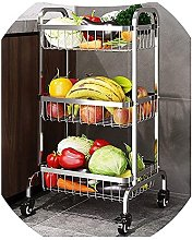 YQCX Kitchen Fruit and Vegetable Storage Stand, 3