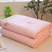 YQDSY Cotton King Size Summer Quilt,Summer Cool