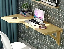 YQDSY Household Wall-Mounted Computer Desk -