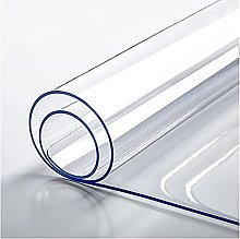 YQJ Plastic Tablecloth for Dinning, Table Clear