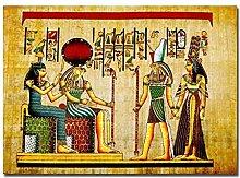 YQQICC Egypt Pharaoh Character Posters Print Wall