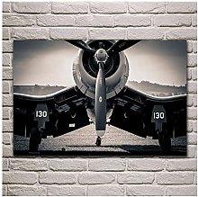 YQQICC Modern Fighter Poster Print Wall Art Canvas