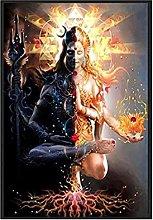 YQQICC Modular Zen Poster Print Wall Art Canvas