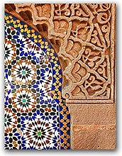 YQQICC Moroccan Architecture Poster Print Wall Art
