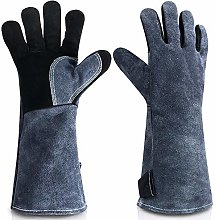 YQQWN Extreme Heat & Fire Resistant Gloves Leather