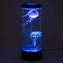 Yqs Desk Lamp USB sport colorful jellyfish lamp