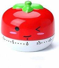 Yqs Kitchen Timer Portable 60 Minute Tomato