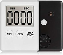 Yqs Kitchen Timer Super Thin LCD Digital Screen
