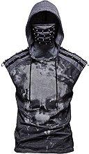 YQS Stretch Fitness Men's Skull Print