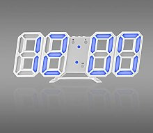 Yqs Wall Clock Time Large LED Digital Wall Clock