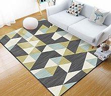 YQZS Carpet Modern Minimalist Carpet Geometric