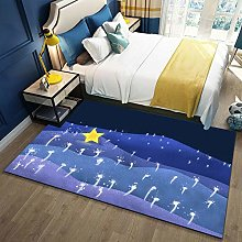 YQZS Carpet Rectangular Children'S Carpet Star