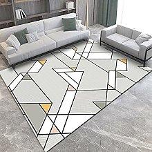 YQZS Large Household Carpet Minimalist triangle