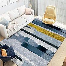 YQZS Large Household Carpet Stripe blue