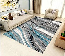 YQZS Modern Simple Bedroom Bedside Carpet Abstract