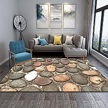 YQZS Modern Simple Bedroom Bedside Carpet Gray